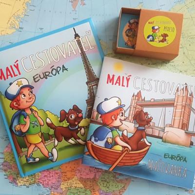 Kniha MALÝ CESTOVATEĽ + MAĽOVANKA + PEXESO