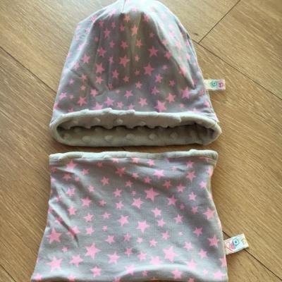 Zimne čiapočky s nákrčníkom pre najmenších