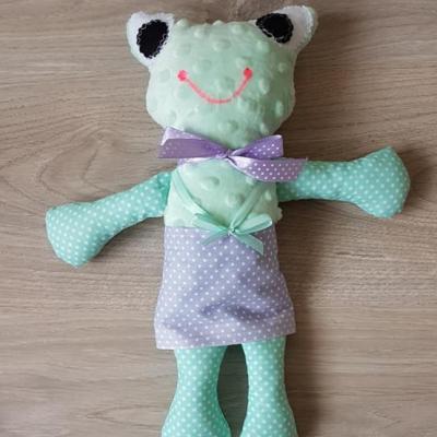 Žabka - textilná hračka