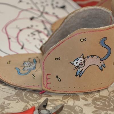 Malovaný obrázok na moje topánočky