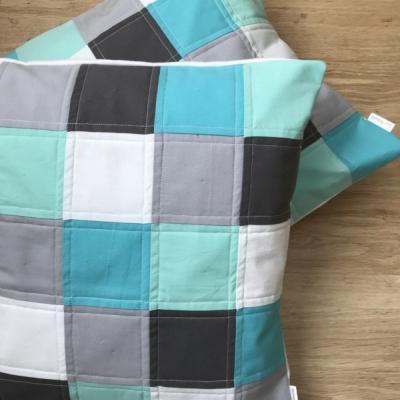 Patchwork obliečky na vankúš 40x40cm