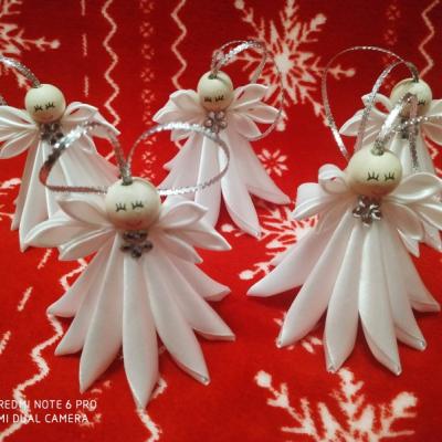 Vianočný anjel na stromček 8.5cm
