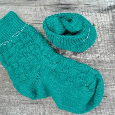 Ručne pletené ponožky