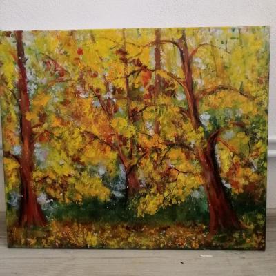 Ručne maľovaný obraz