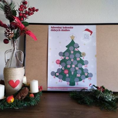Adventný kalendár dobrých skutkov