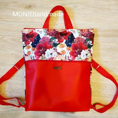 Kabelo-ruksak Kvety a hrozno