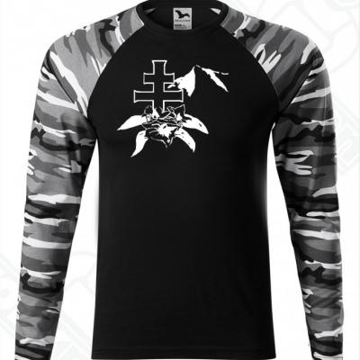 Unisex tričko s dlhým rukávom-DAMIdizajn