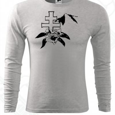 Pánke tričko s dlhým rukávom-DAMIdizajn