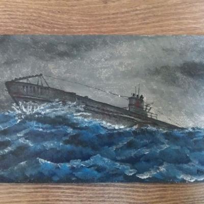 Ponorka na mori