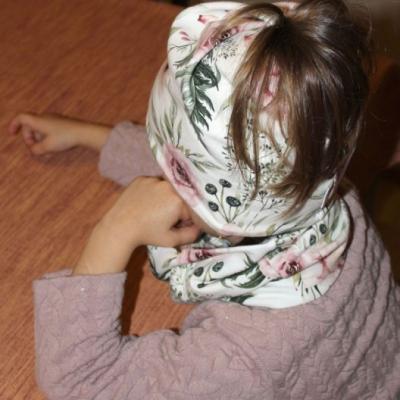 Detská ČIAPKA S OTVOROM na COP