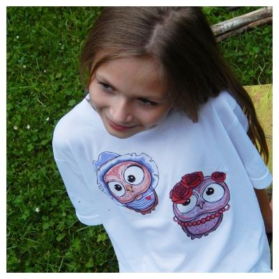 Detské tričko - OčiPuči parťáci Wincko a Roozalka :)