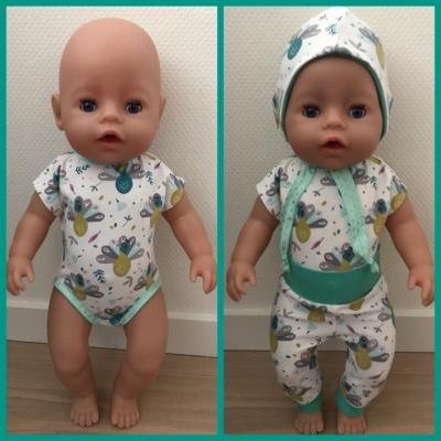 Oblečenie pre bábiku baby Born 43cm