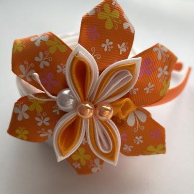 Čelenka Oranžový motýlik