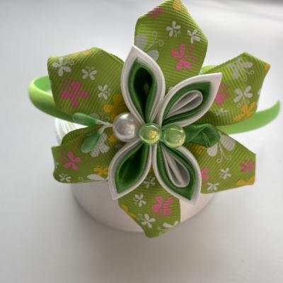 Čelenka Zelený motýlik