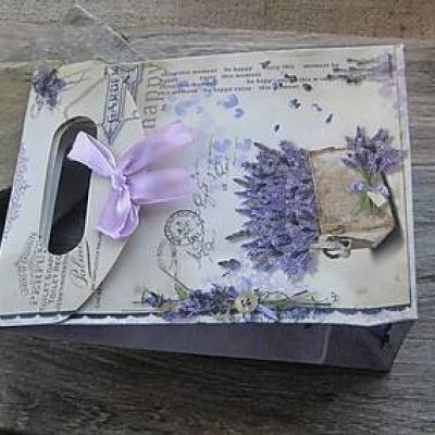 Darčeková taštička levandula, 1 ks