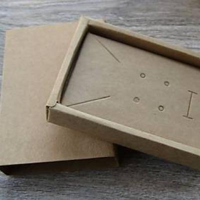 Krabička na šperky 11.5 x 8 x 2.5 cm, 1 ks
