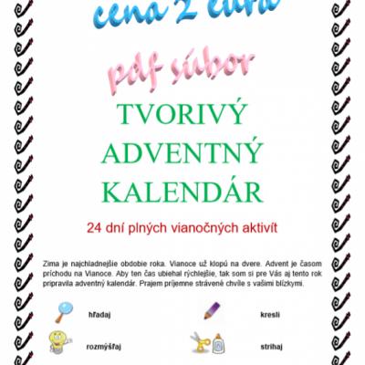 Tvorivý adventný kalendár