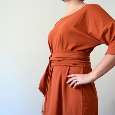 Tehlové šaty Alica