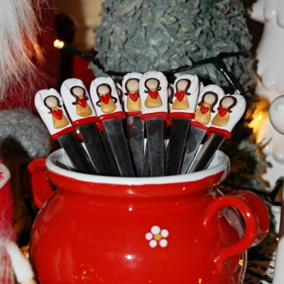 Vianočné  lyžičky