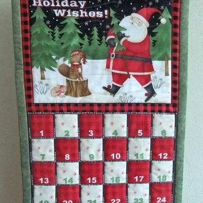 Adventný kalendár Santa