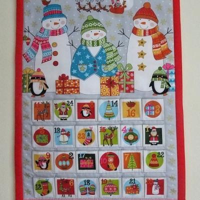 Adventný kalendár Snehuliaci