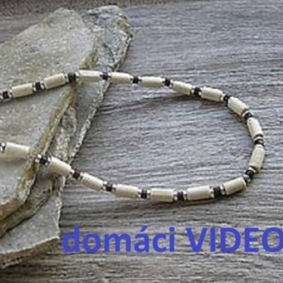 Domáci VIDEOKURZ aj s materiálom - vyrob si pánsky drevený náhrdelník