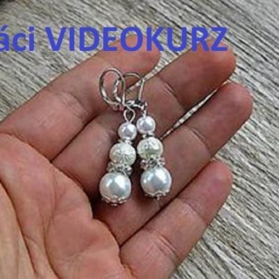 Domáci VIDEOKURZ aj s materiálom - vyrob si perlové náušnice