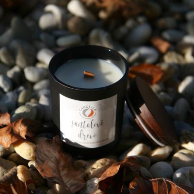 Santalové drevo - sójová sviečka (S)