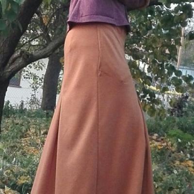 Šesťdielová sukňa - jeseň, jar