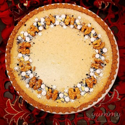 Škoricovo-medový cheesecake