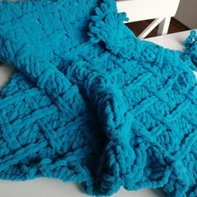 Puffy Cerulean blue