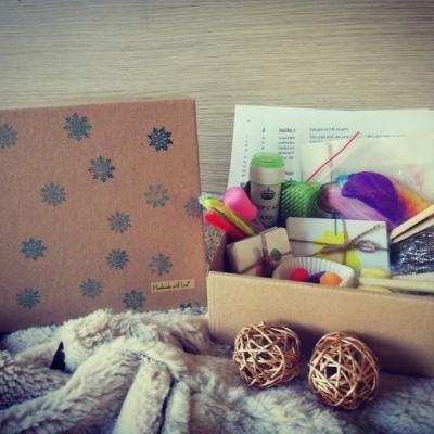 Vianočný box - aktivity od 1 roka