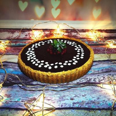Vanilkový cheesecake s ovocnou polevou
