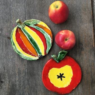 Jabĺčkové tanieriky