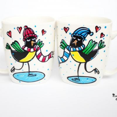 Vtáčiky na korčuliach na čaj či kávičku