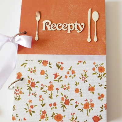 receptár s kvietkami