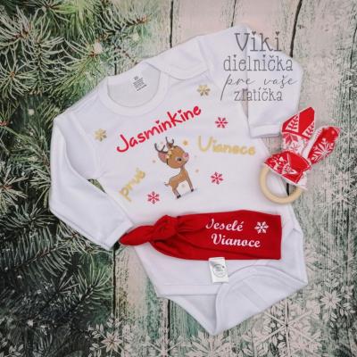 Vianočné body s potlačou