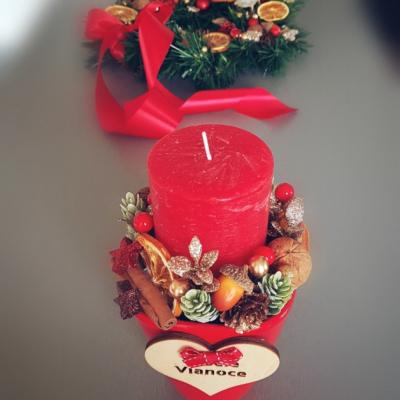 Vianočný svietnik