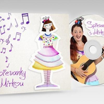 MP3 verzia albumu Spievanky s Mirkou