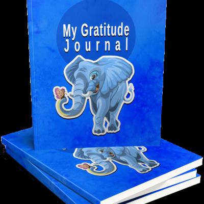 Kids GRATITUDE journal -denník vďačnosti pre deti