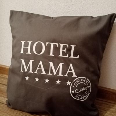 Vankúšik hotel mama