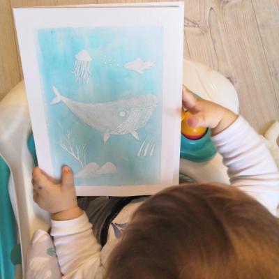 Svietiaci obrázok do detskej izby