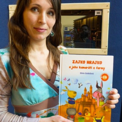 kniha Zajko Hrajko a jeho kamaráti z farmy + 2 CD
