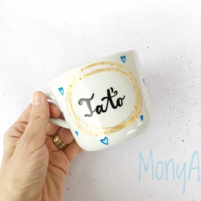 Taťo - hrnček na kávu/čaj