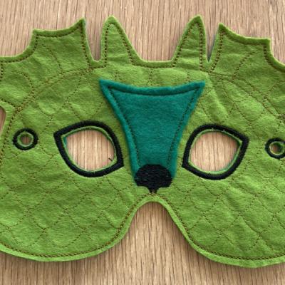 Dráčik detská karnevalová maska