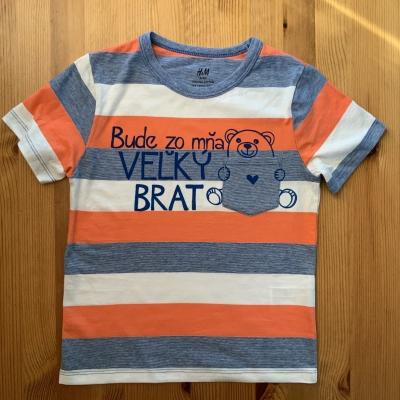 Maľované tričko pre VEĽKÉHO BRATA