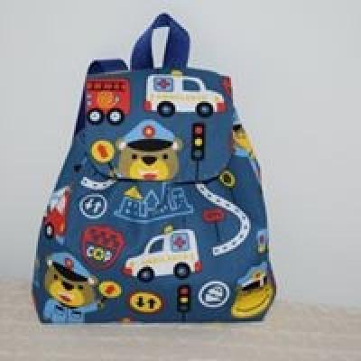 Detský ruksak autá