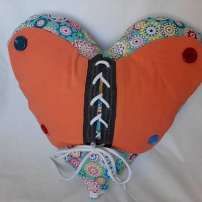Didaktická pomôcka Srdce s motýľom