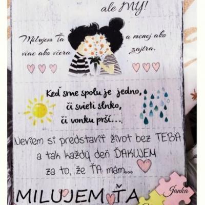 Valentínska tabuľka