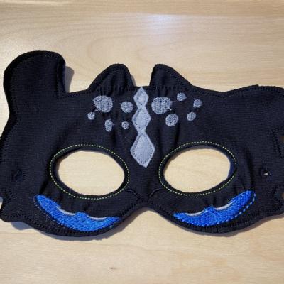 Bezubí detská karnevalová maska
